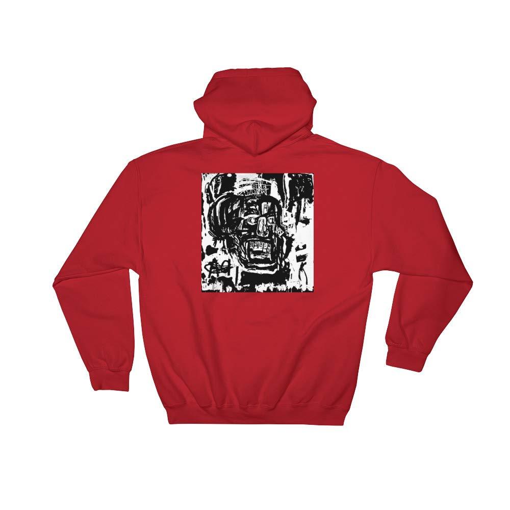 Hooded Sweatshirt Untitled Head Jean-Michel Basquiat Inspired
