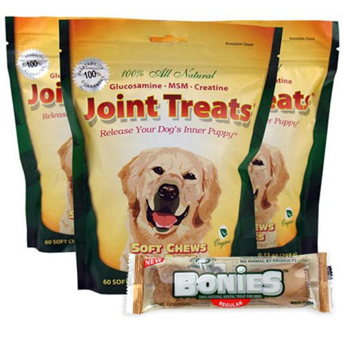 3-PACK Joint Treats (180 Soft Chews), My Pet Supplies