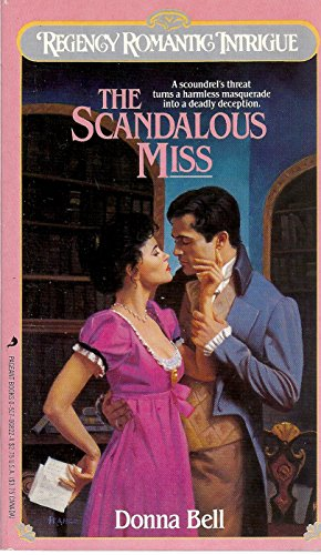 book cover of The Scandalous Miss