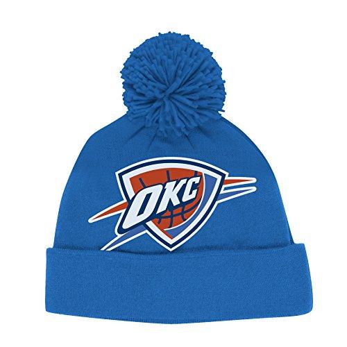 Oklahoma City Thunder Pom Hat Thunder Hat With Pom