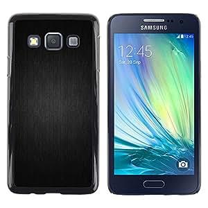 LECELL--Funda protectora / Cubierta / Piel For Samsung Galaxy A3 -- Motif gris --