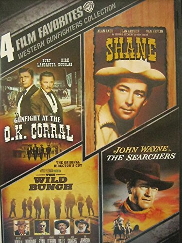 Western Gunfighters Collection: Gunfight at the O.K. Corral / Shane / WIld Bunch / Searchers