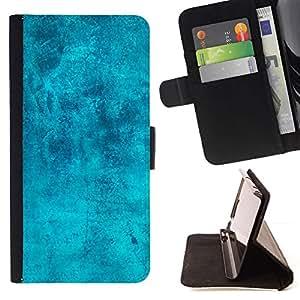 Turquoise Antique Texture - Modelo colorido cuero de la carpeta del tirón del caso cubierta piel Holster Funda protecció Para Samsung Galaxy S6 EDGE (NOT S6) Plus / S6 Edge+ G928