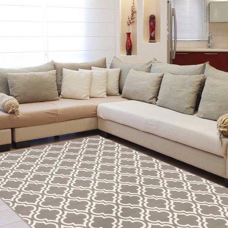 Mainstays Fret Area Rug Available In Multiple Colors And Sizes (6