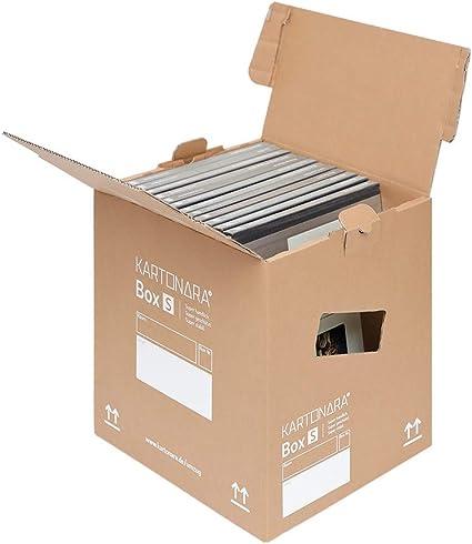 Cajas de cartón pequeñas para mudanzas, libros, carga de 45 kg, 10 ...