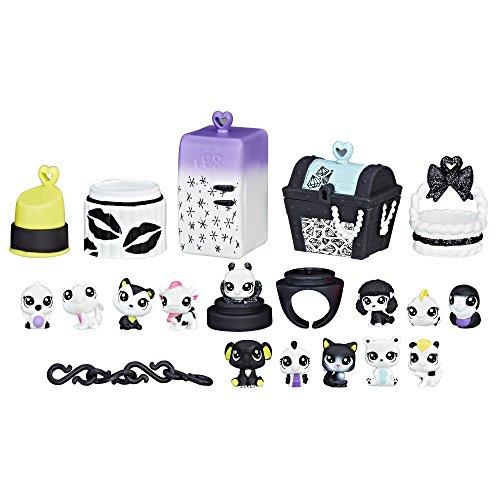 Littlest Pet Shop Black & White Pet Pack, Collection 2