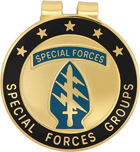 U.S. Army Special Forces Groups Money Clip