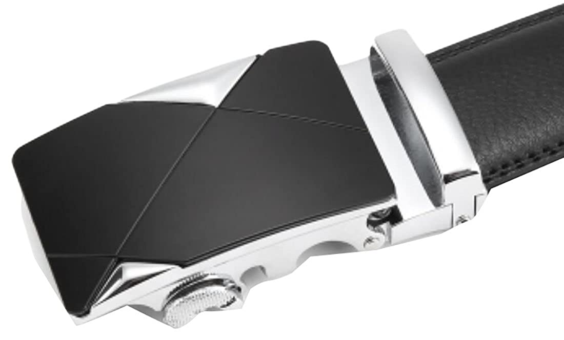 GAGA Men New Autumn Automatic Buckle PU Leater Casual Belt