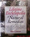 Lifetime Encyclopedia Natural Remedies Borders Press, Myra Cameron, 0130179108
