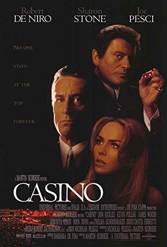 Casino Movie Poster, Robert De Niro, Joe Pesci, A, Made In The U.S.A