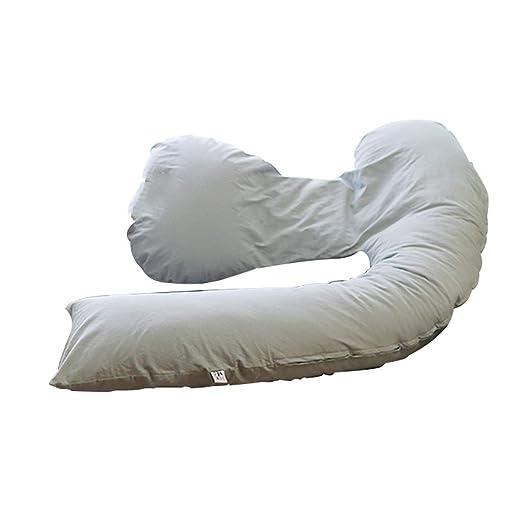 Almohada THBEIBEI Cojín de Lactancia de Fibra de algodón ...