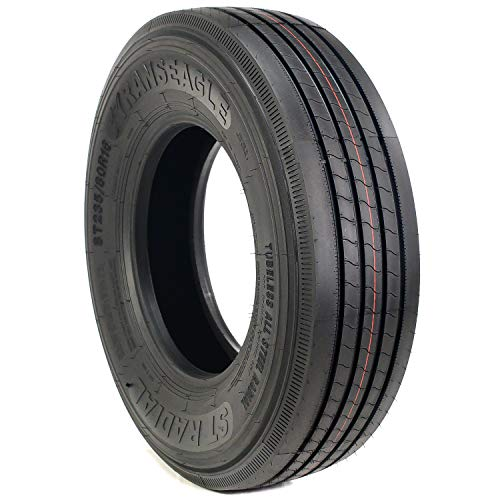 TransEagle ST Radial All Steel Premium Trailer Tire - ST235/80R16 129/125M G (14 Ply)