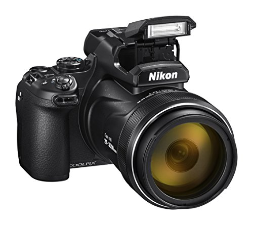 NIKON COOLPIX P1000, Black 125X Optical Zoom Camera