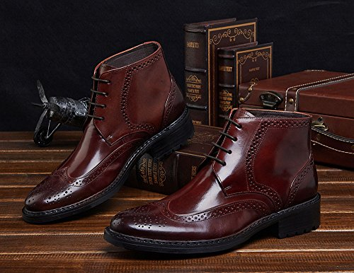 Wuf Coffee Wuf uomo Brogue uomo Brogue Wuf Coffee qv5t5H