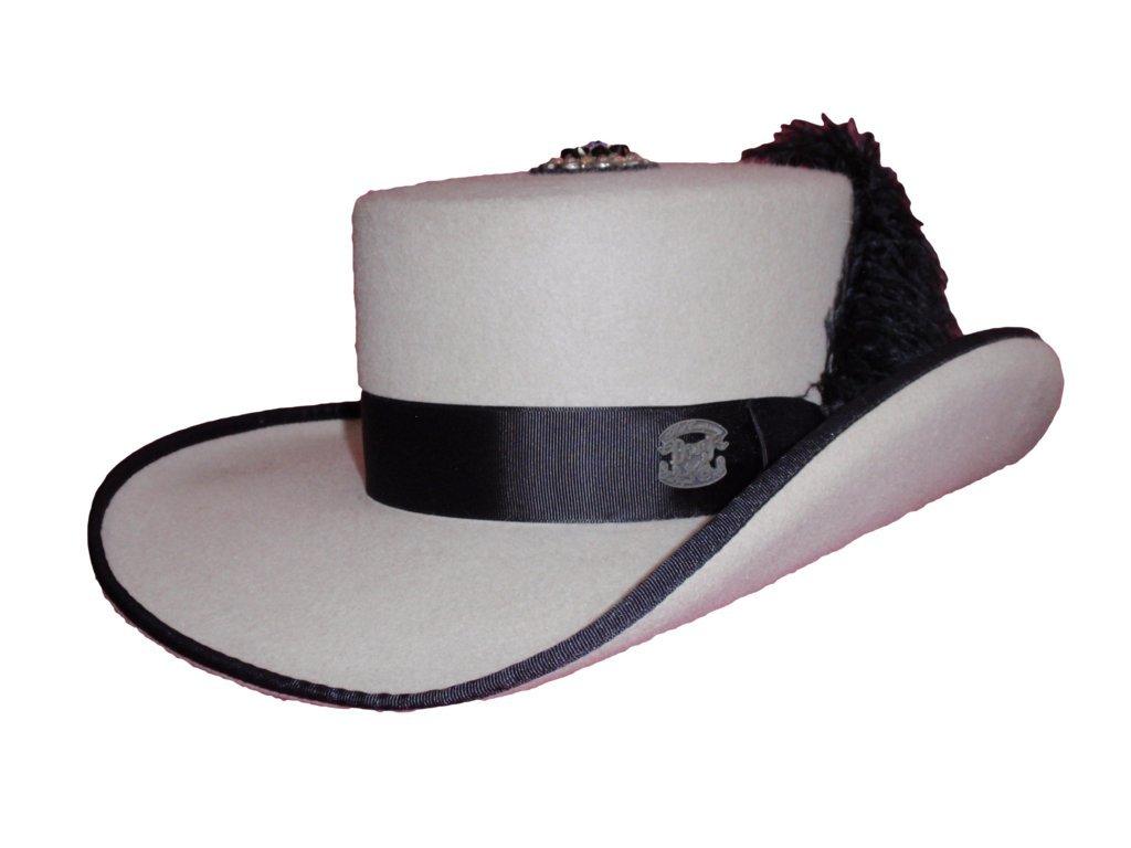 D Bar J Hat Brand, Female, Gambolero, Size 7, Silver Belly