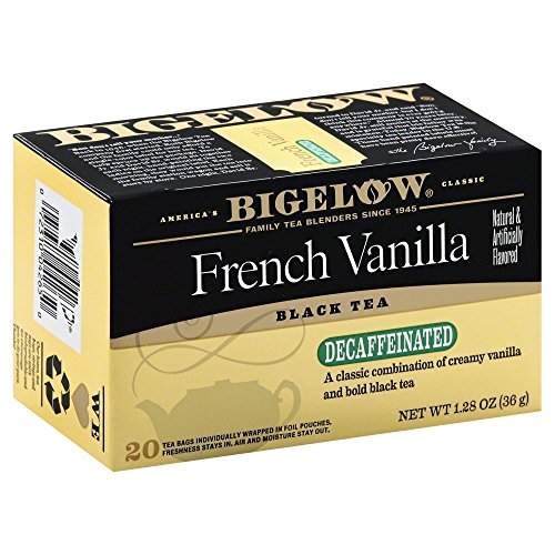 Bigelow French Vanilla Decaf Tea 1.28 OZ(Pack of 2)