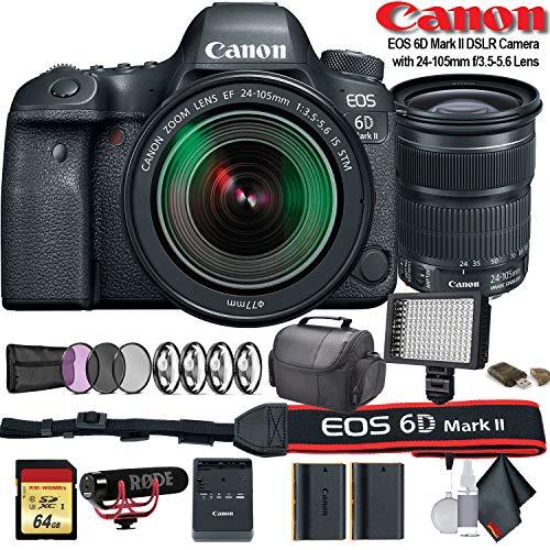 Canon EF 50mm f//1.8 STM Lens with BuzzPhoto Bundle