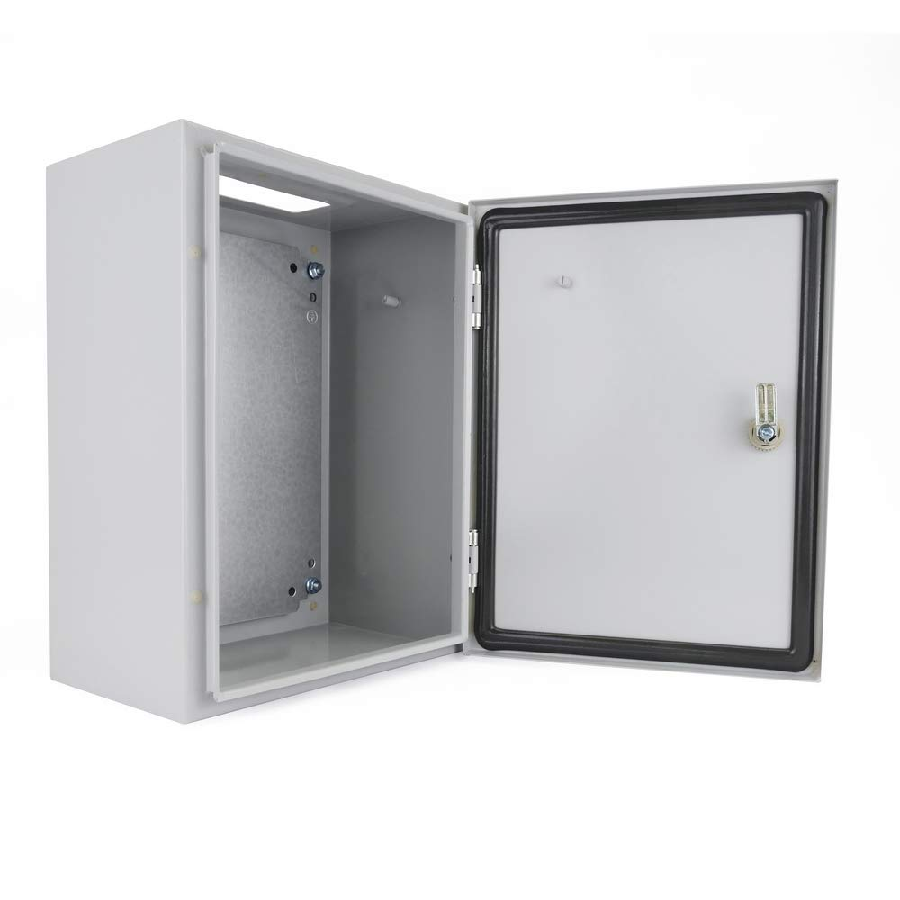 BeMatik Elektroverteilung Metall IP65 f/ür Wandmontage 400x300x200mm
