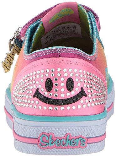 Skechers Skechers10904L - Shuffles - Lächelndes Design (Stylin Smiles) Unisex-Kinder Multi