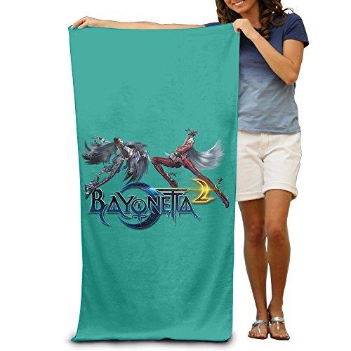 DEMOO Bayonetta LOGO Summer Holiday Beach Towel - Bayonetta Xbox 360 Costumes