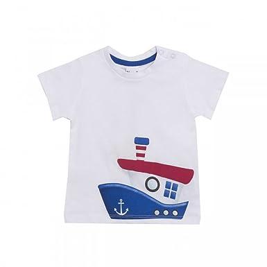 8b1f649e4 NEWNESS Camiseta Barco Bebe Niño 6-24 Meses  Amazon.es  Ropa y ...