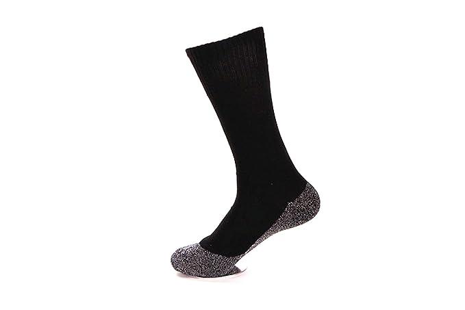78e318af68b62 Amazon.com: 35 Degrees Ultimate Comfort Socks 3 Pairs in Black - Aluminized  Fibers Supersoft Socks: Clothing