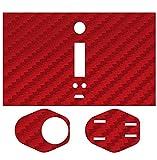 Skin-2-win Chrome RED Carbon Protective Vinyl Skin Wrap Sticker Decal for Wismec Reuleaux Rx200 Rx Tc MOD 200w 200 Watt Vape