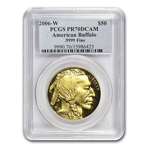 Buffalo Gold Proof - 2006 W 1 oz Proof Gold Buffalo PR-70 PCGS 1 OZ PR-70 PCGS
