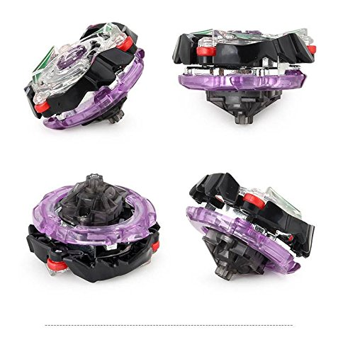 WenJie [2 Pack] Beyblade Burst - Personally Assemble to Improve Your Child's Manual Ability - Stamina Type - 2 X Combat Combination ( 2 Beyblade + 2 Launcher ) - b79+b86 by WenJie (Image #2)