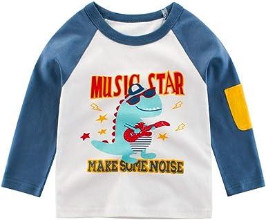 Geilisungren Ropa para Bebés Niños Camisetas de Manga Larga Bebé ...