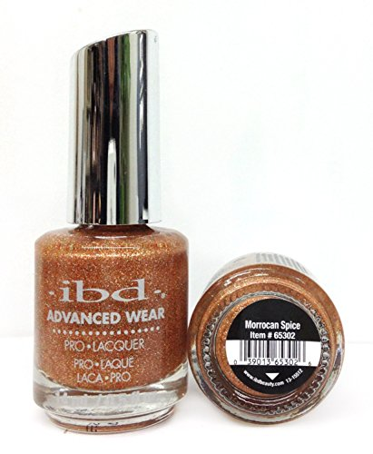 IBD Advanced Wear Pro Lacquer, Moroccan Spice, 0.5 Fluid Ounce