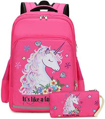 Backpack Elementary Bookbag School Children