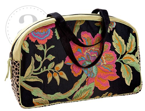 Atenti Overnighter Bag (Wild Garden) by Atenti Overnighter