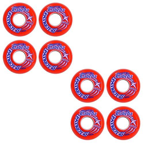 (Labeda Wheels Inline Roller Hockey Patriot Goalie 8-Pack 59mm Indoor)