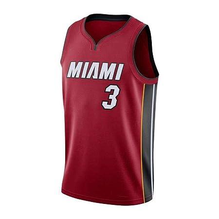 CHXY Camiseta De Baloncesto NBA Camiseta De Baloncesto Dwyane Wade ...