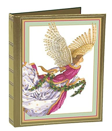 Amazon christmas card address book to organize greeting cards christmas card address book to organize greeting cards sent and received angel with gilded wings m4hsunfo