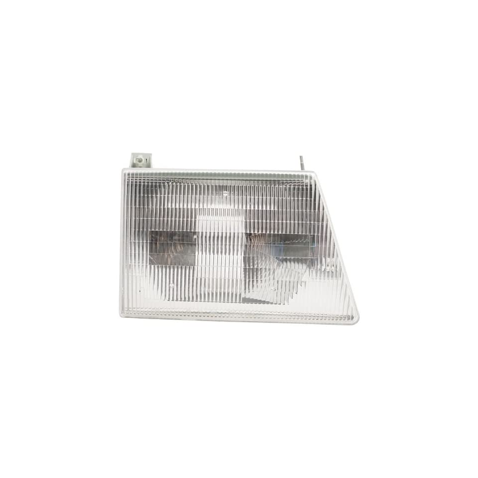 OE Replacement Ford Econoline Passenger Side Headlight Assembly Composite (Partslink Number FO2503117)