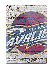 New Snap-on John E Barber Skin Case Cover Compatible With Ipad Air- Nba Cleveland Cavaliers Logo