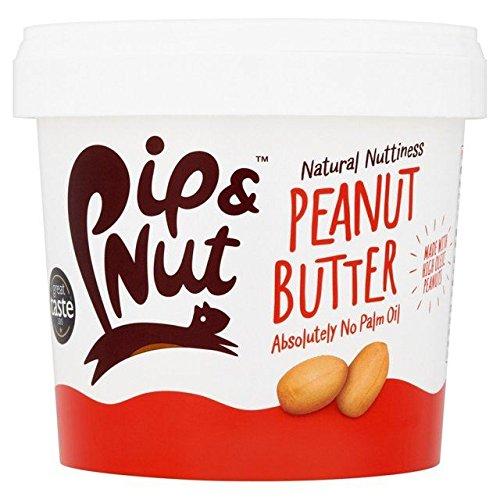 Pip & Nut Peanut Butter - 1kg (2.2lbs) (Best Nut Butter Uk)
