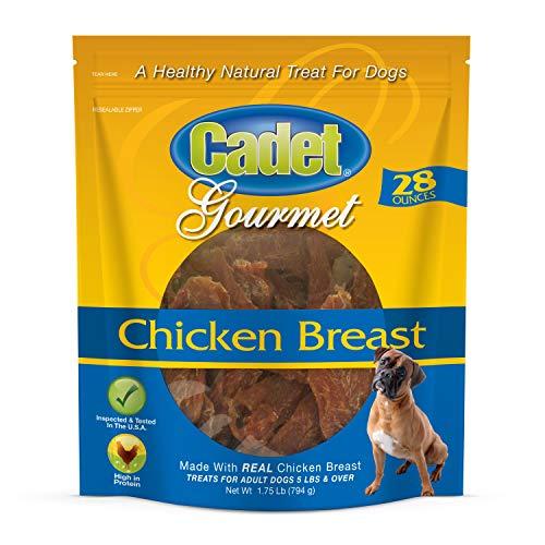 Cadet Chicken Breast Dog Jerky Treats | 28 oz | Natural and Healthy Dog Treats | Grain Free Dog Treats