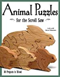 img - for Animal Puzzles for the Scroll Saw book / textbook / text book