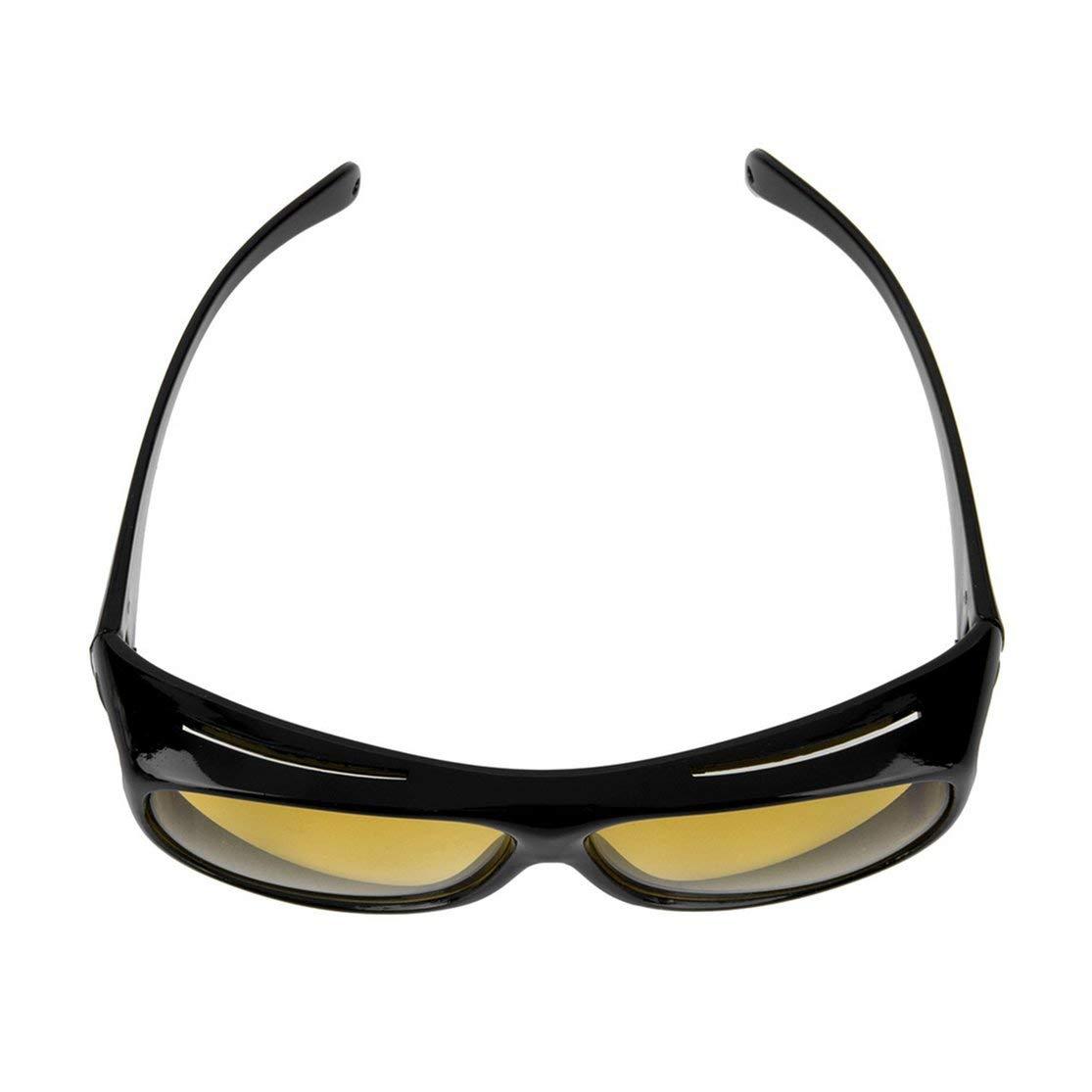 LouiseEvel215 Hombre Mujer Noche Gafas de Conducir Gafas de Sol de Seguridad UV 400 Gafas Protectoras para los Ojos Gafas Anti deslumbramiento Visi/ón
