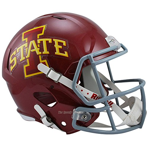 Iowa State Cyclones Officially Licensed NCAA Speed Full Size Replica Football Helmet by Riddell