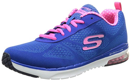 Skechers Skech-Air Infinity Blue Rose Blanc Femmes Baskets Chaussures