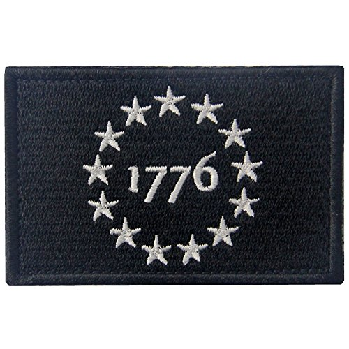 Tactical USA 1776 Patriot Milltary Embroidered Applique Mora