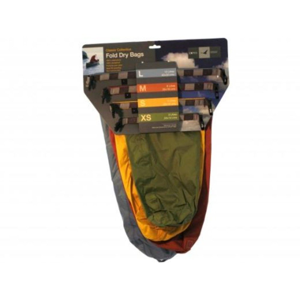 Lyon Fold Drybags Classic 4 pack