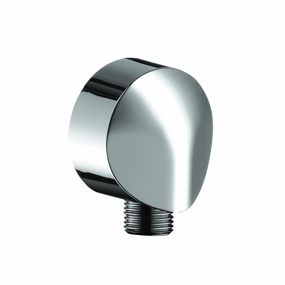 Hansgrohe 27458003 Wall Outlet with Dual Check Valve, Chrome - Pipe ...