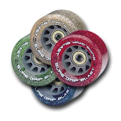 Sure-grip Blast 62mm roller skate Speed wheels - Green : Roller Skate Replacement Wheels : Sports & Outdoors