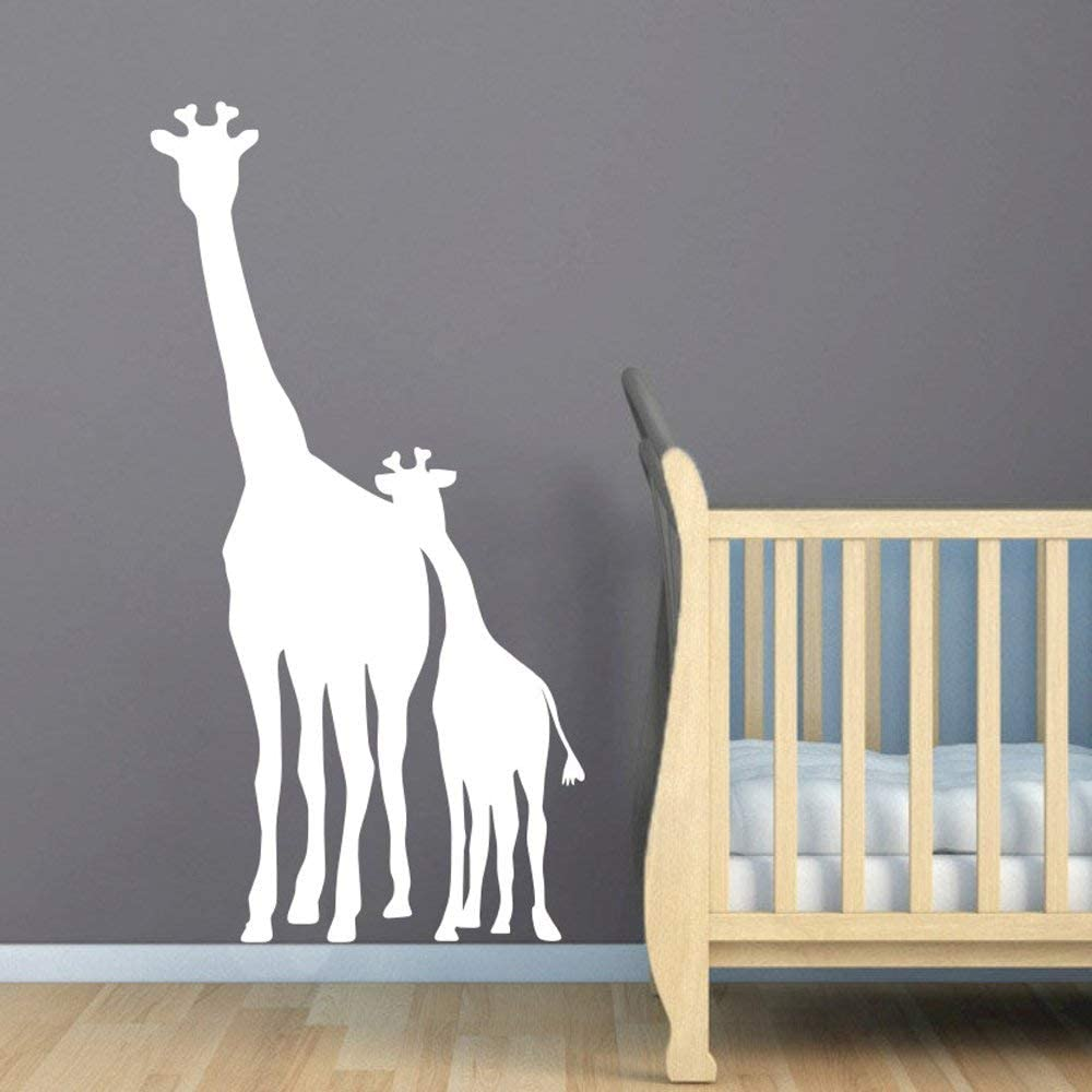 Large African Safari Giraffe Wall Decal