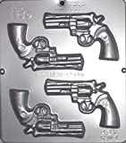 Gun Revolver Chocolate Candy Mold 1250